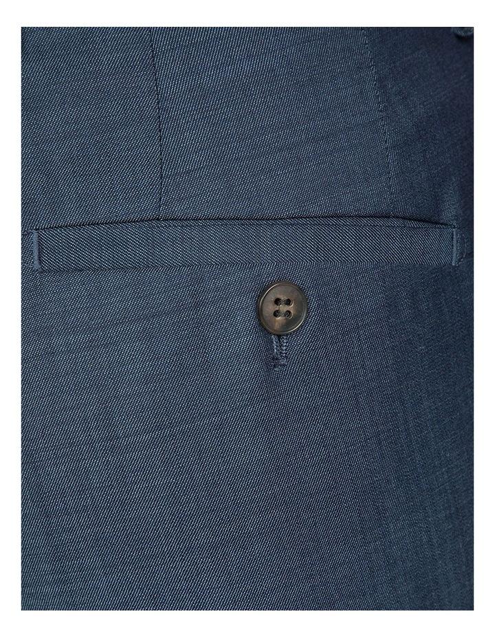 Slim Fit Blue Caper Trouser image 4