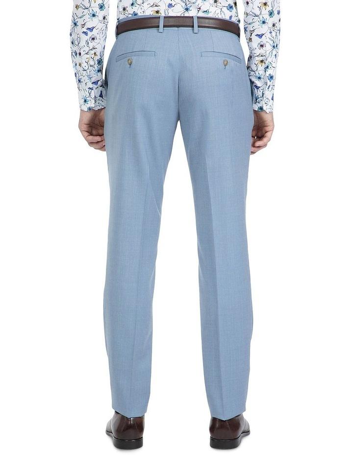 Slim Fit Light Blue Caper Trouser image 3