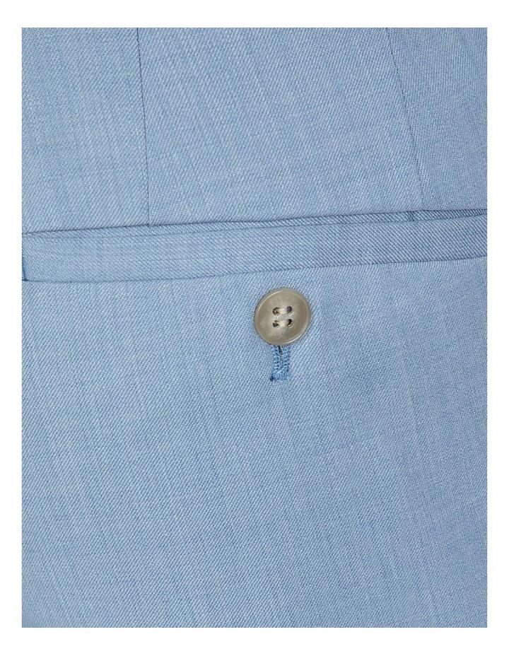Slim Fit Light Blue Caper Trouser image 4