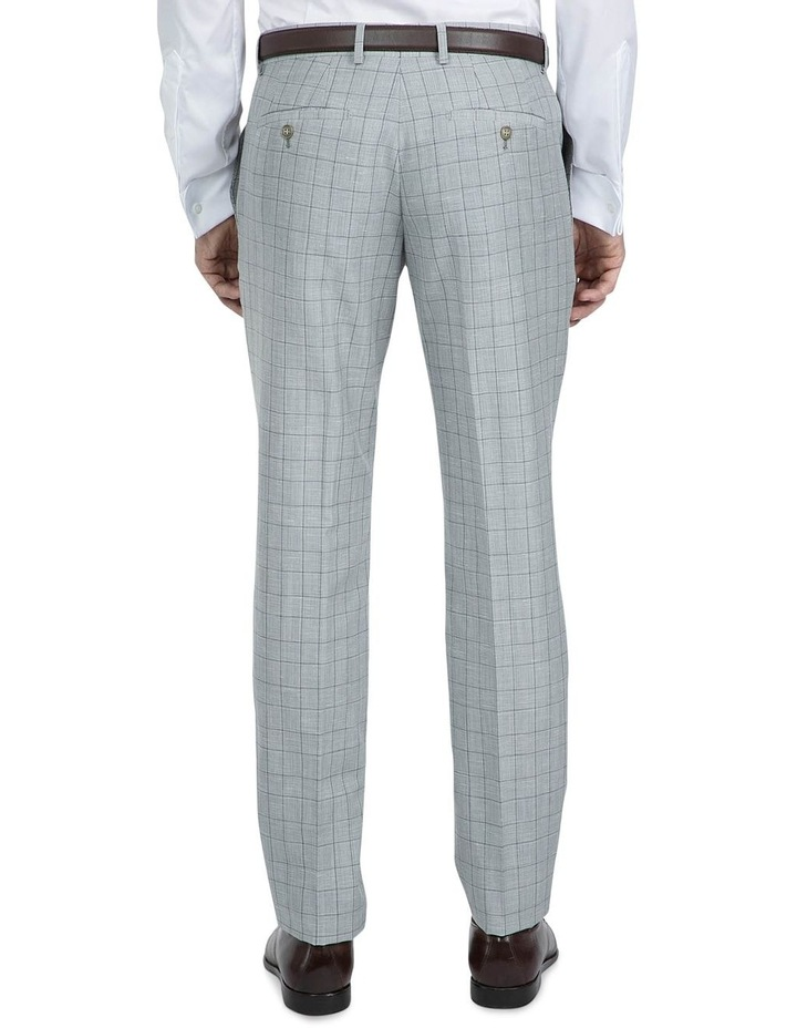 Slim Fit Light Grey Caper Trouser image 3