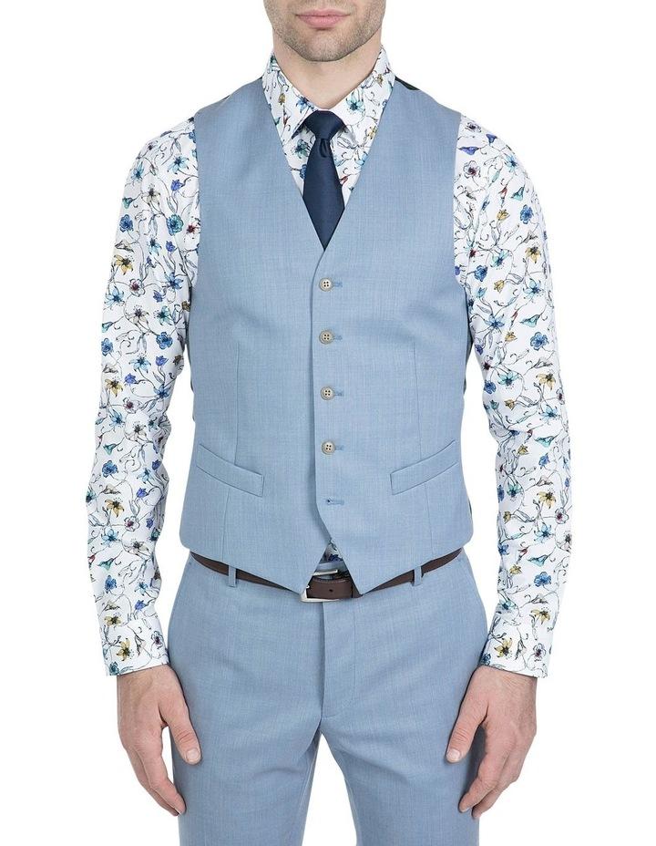 Slim Fit Light Blue Mighty Vest image 1