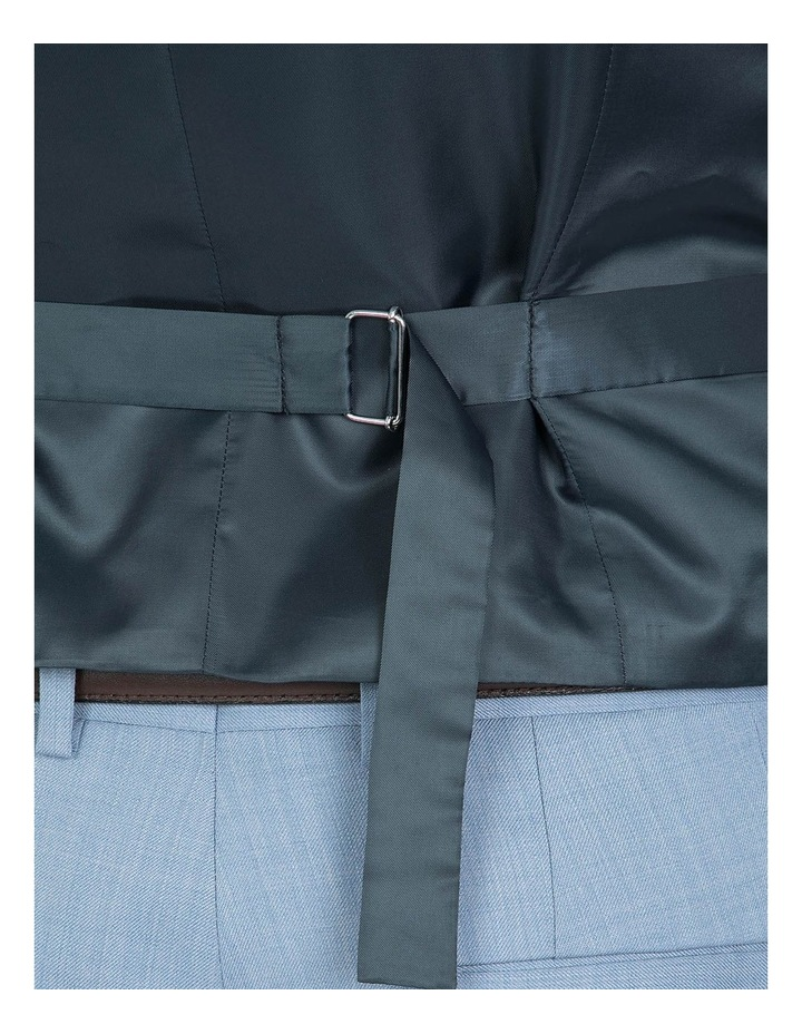 Slim Fit Light Blue Mighty Vest image 4