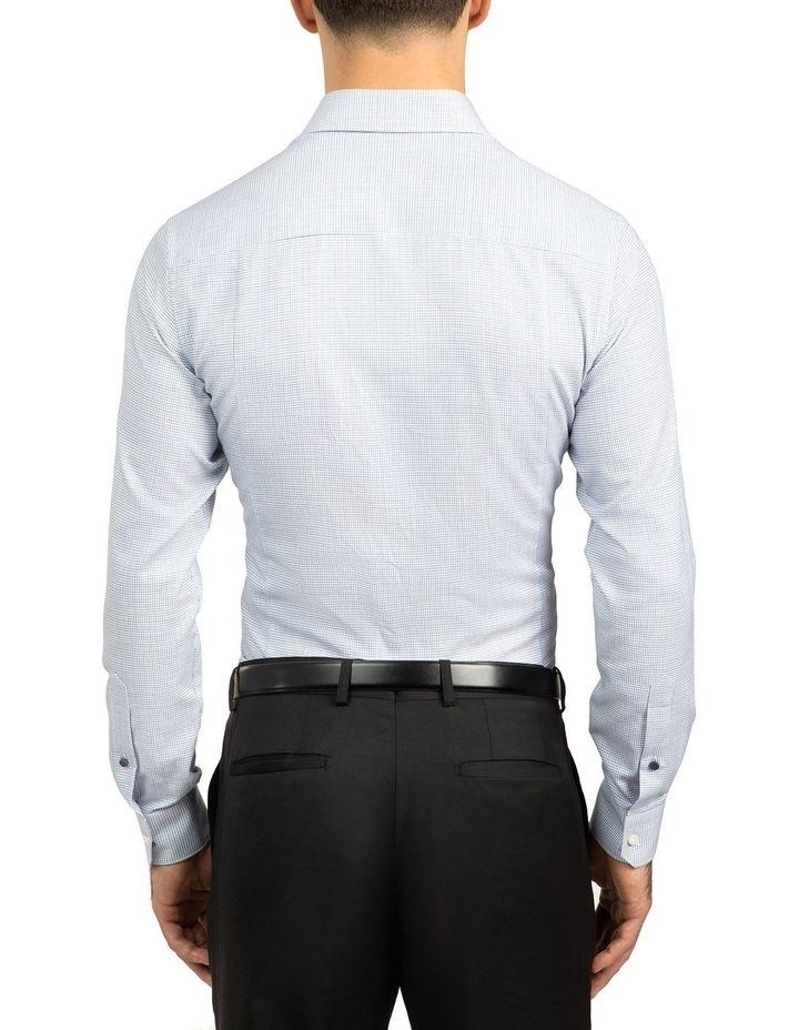 Slim Fit Blue Motion Shirt image 3