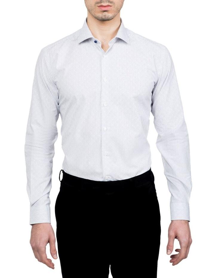 Slim Fit Blue Motion Shirt image 1