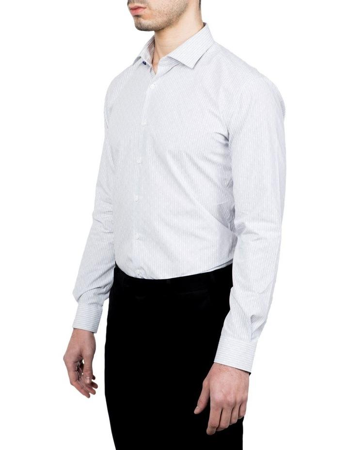 Slim Fit Blue Motion Shirt image 2