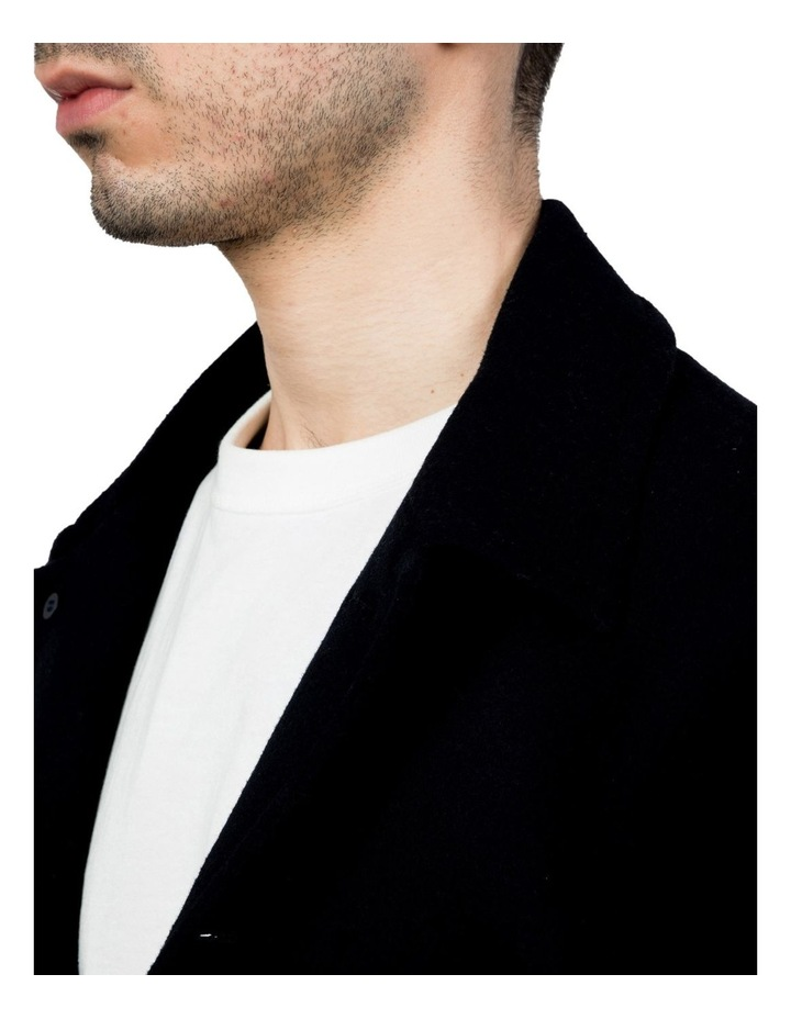 Slim Fit Blue Motion Shirt image 4