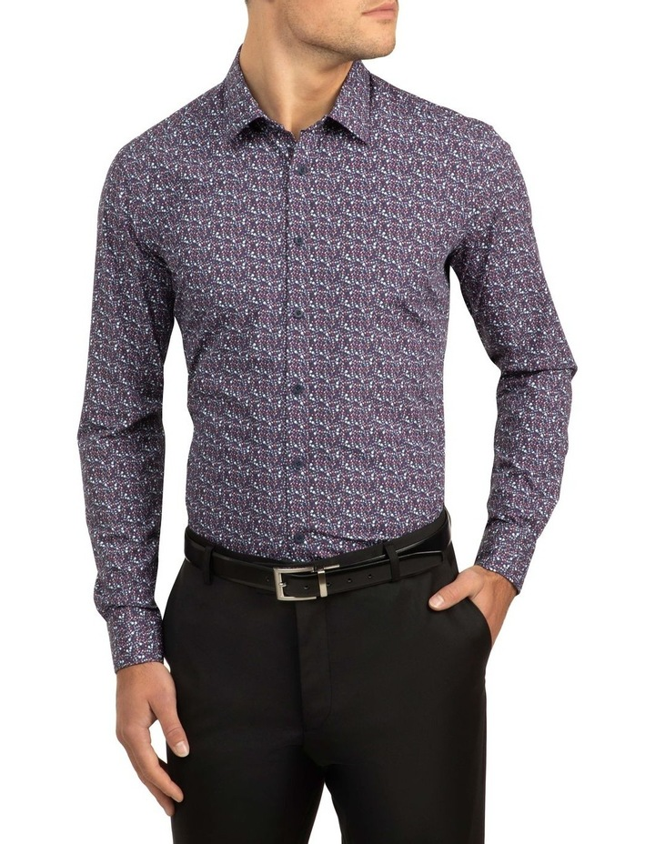 Berry Slim Fit Flame Shirt image 1