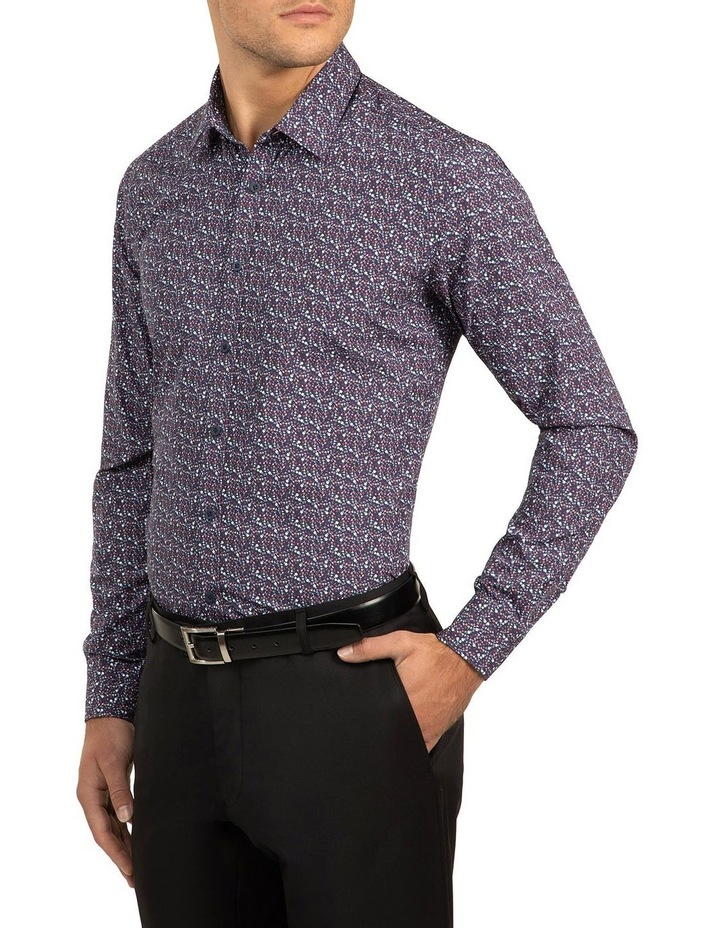 Berry Slim Fit Flame Shirt image 2