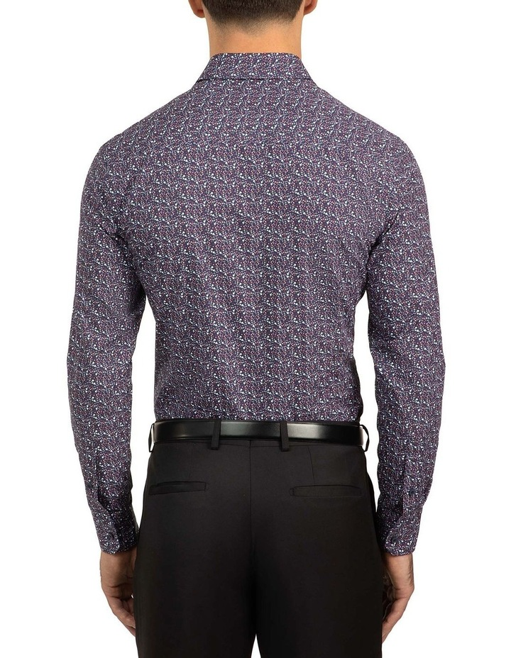 Berry Slim Fit Flame Shirt image 3