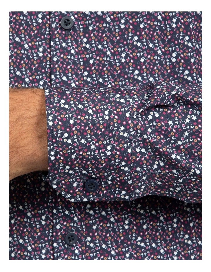 Berry Slim Fit Flame Shirt image 4