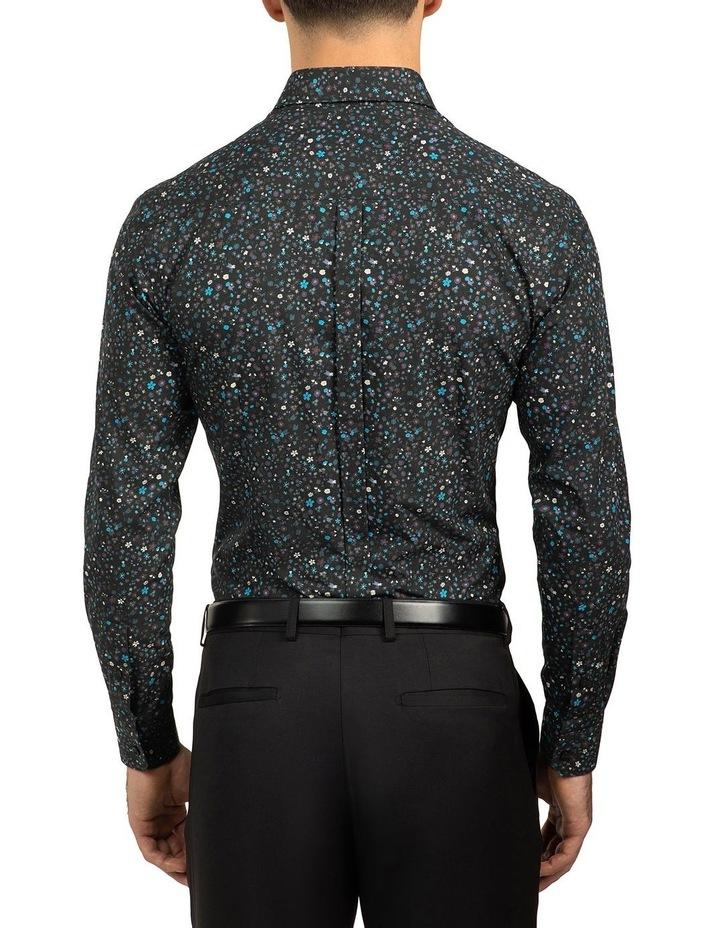 Black Slim Fit Redox Shirt image 3