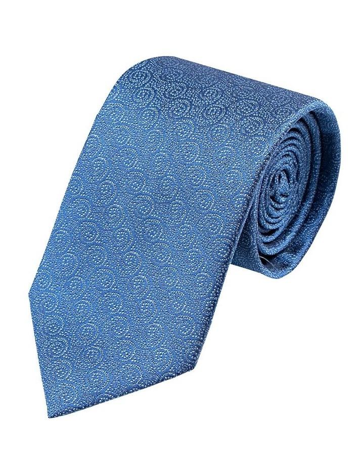 Blue Tonal Waves Tie image 1