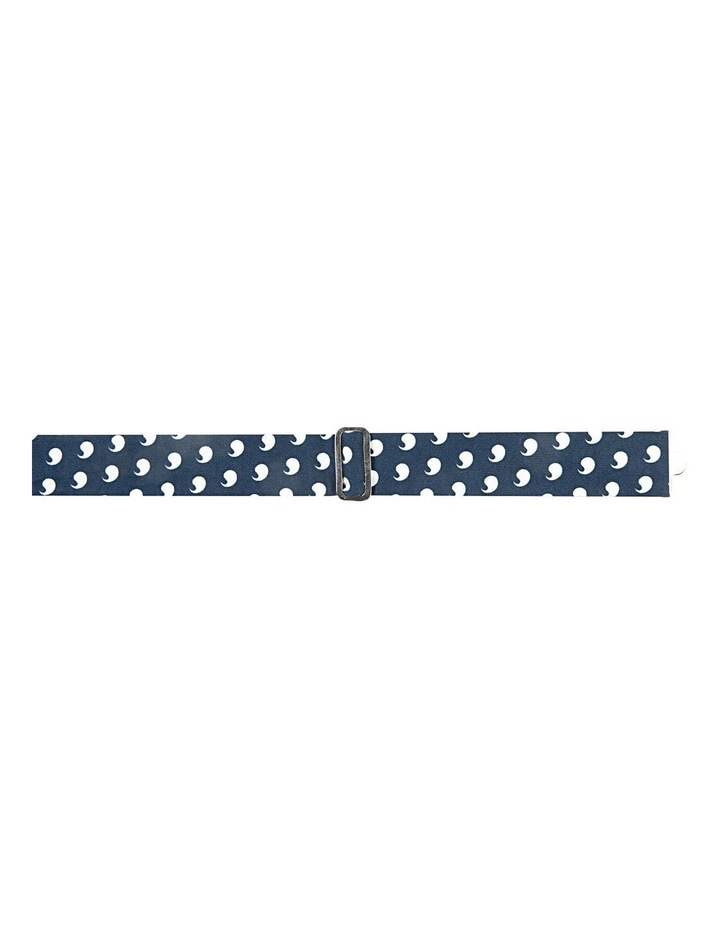 Navy Comma Cotton Bowtie image 2