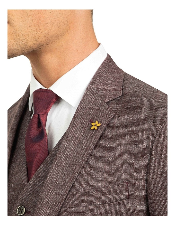 Plum Slim Fit Cobalt Jacket FGJ606 image 4