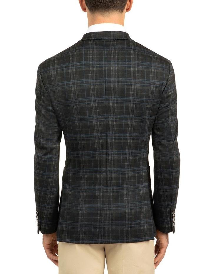 Black Slim Fit Atom Jacket image 3