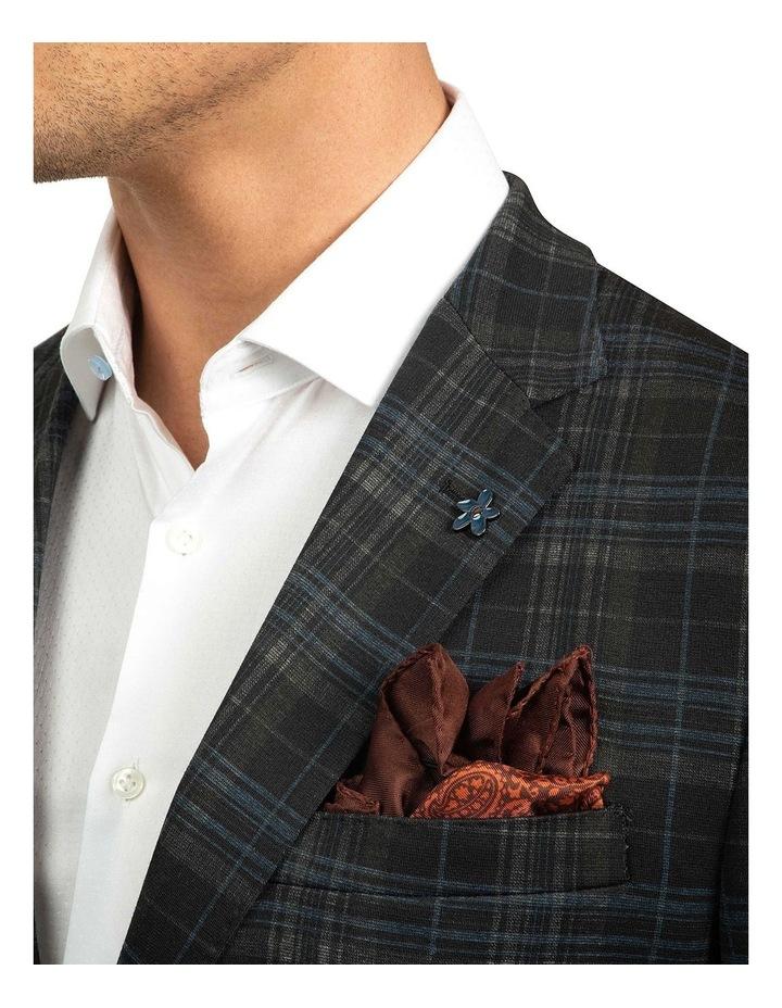 Black Slim Fit Atom Jacket image 4