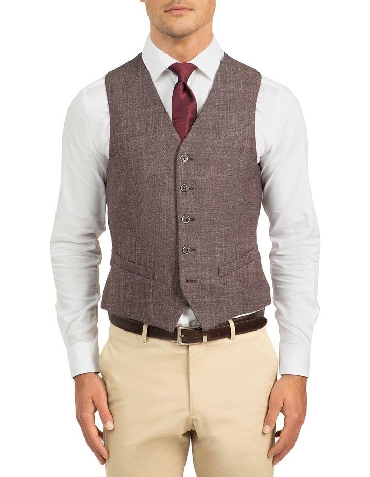 Plum Slim Fit Boom Vest FGJ606 image 1