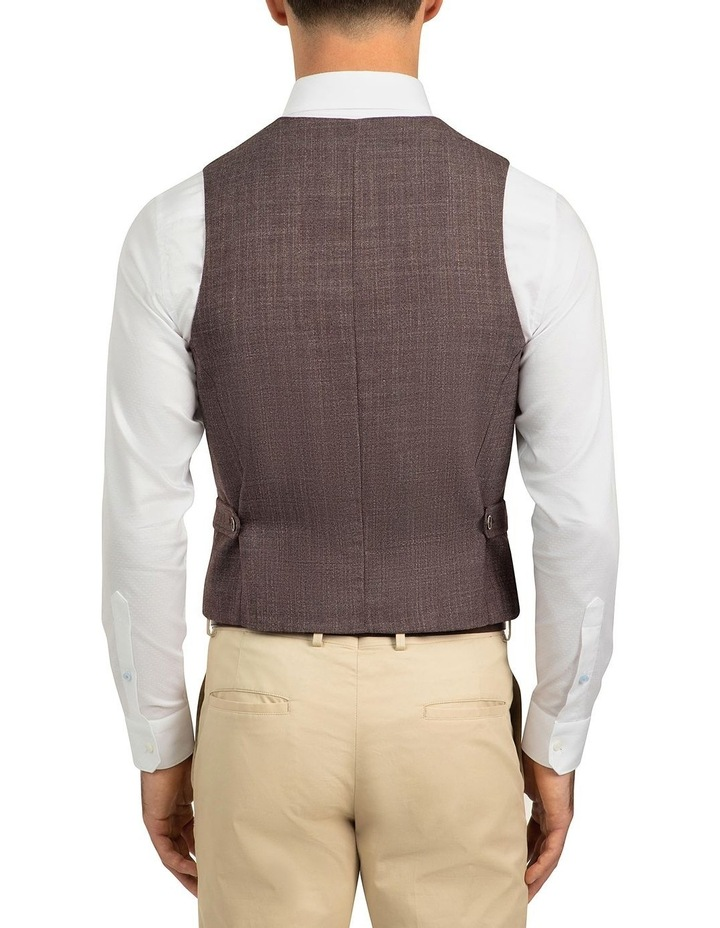 Plum Slim Fit Boom Vest FGJ606 image 3