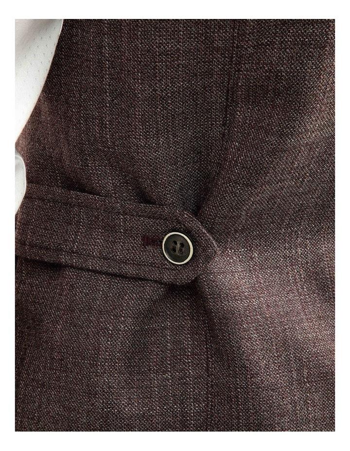 Plum Slim Fit Boom Vest FGJ606 image 4