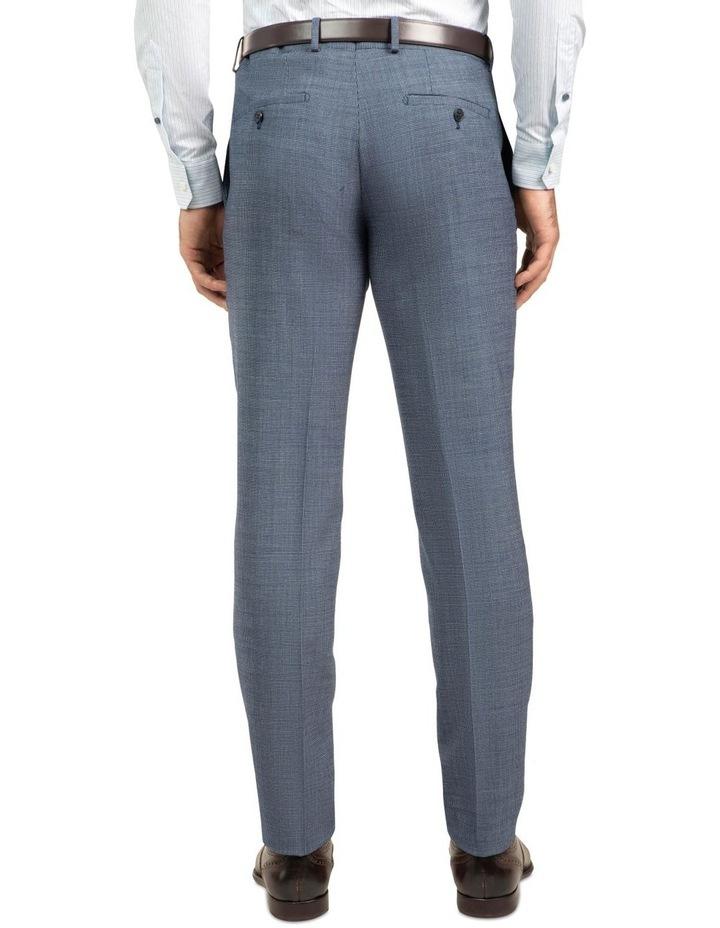 Blue Slim Fit Caper Trouser FGJ612 image 3
