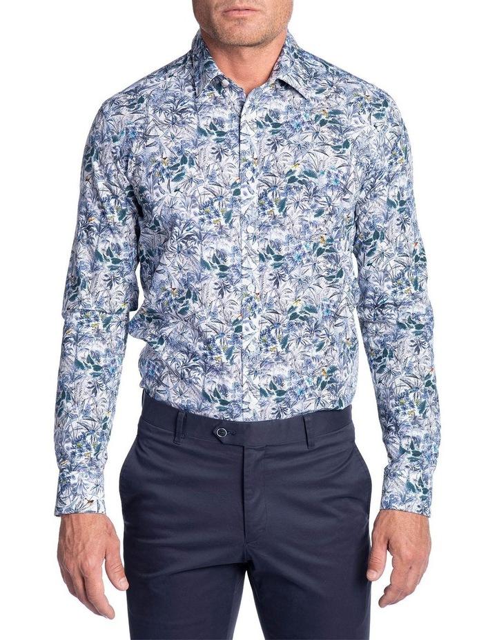 Flame Shirt-Blue image 1