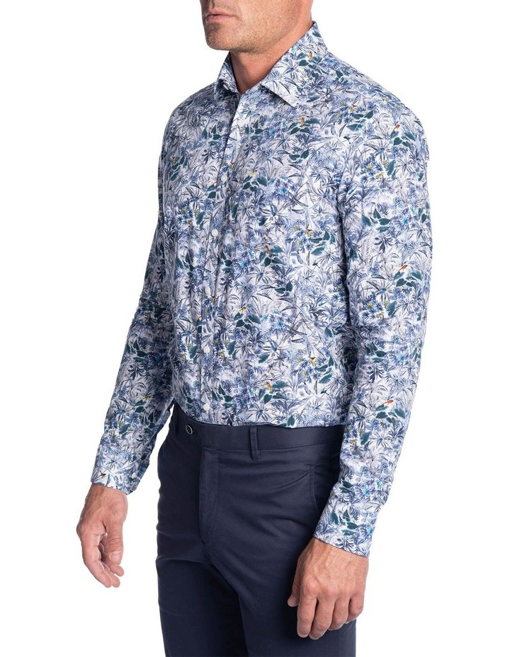 Flame Shirt-Blue image 2