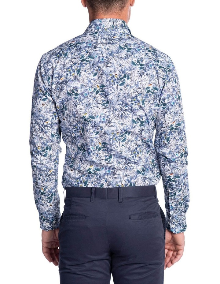 Flame Shirt-Blue image 3