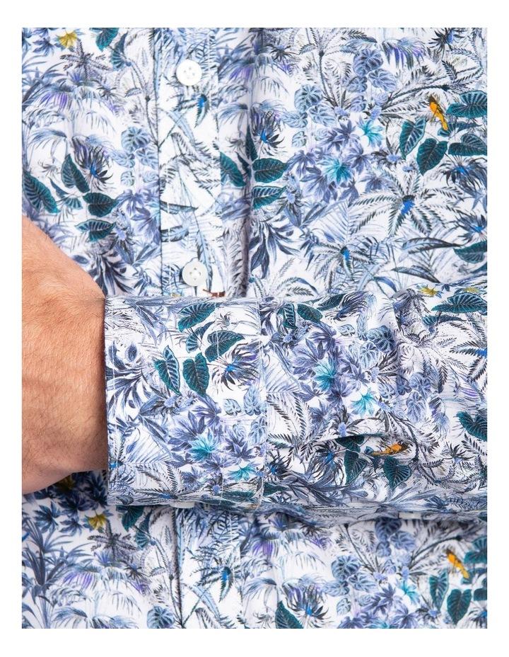 Flame Shirt-Blue image 4