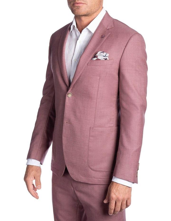 Slim Fit Electron Jacket Pink FGK666 image 2
