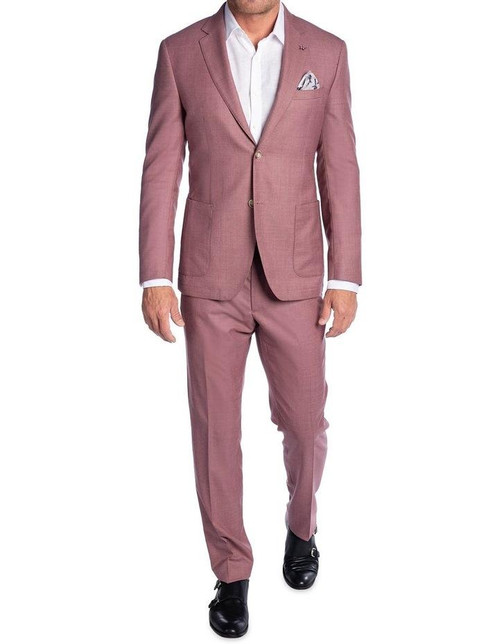 Slim Fit Electron Jacket Pink FGK666 image 5