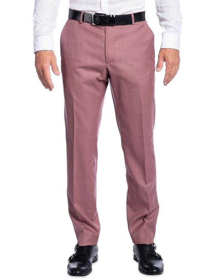 Slim Fit Caper Trouser Pink FGK666 image 1