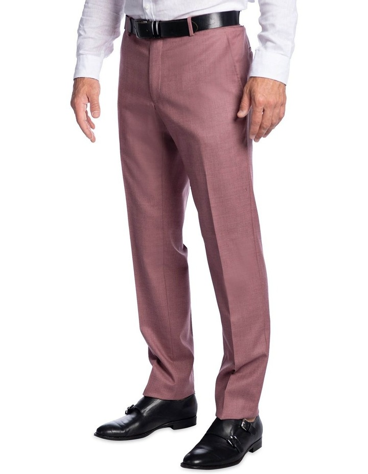 Slim Fit Caper Trouser Pink FGK666 image 2