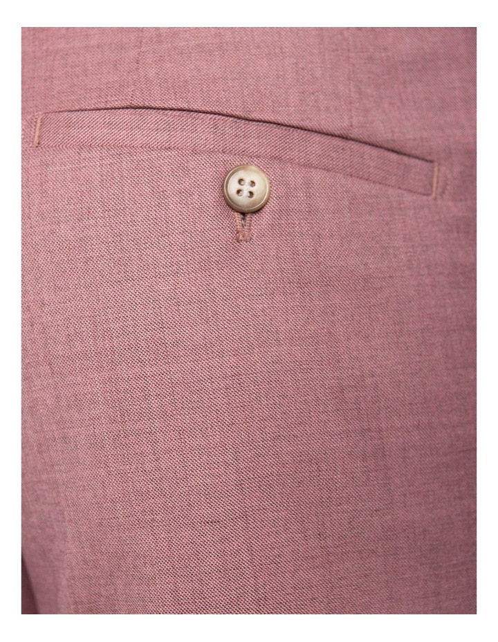 Slim Fit Caper Trouser Pink FGK666 image 4