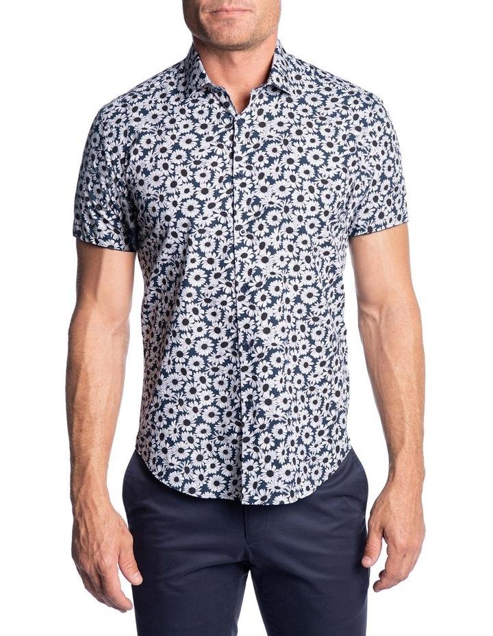 Slim Fit Oxide Shirt-Navy image 1