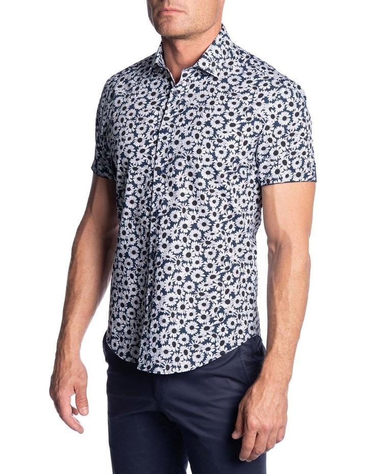 Slim Fit Oxide Shirt-Navy image 2