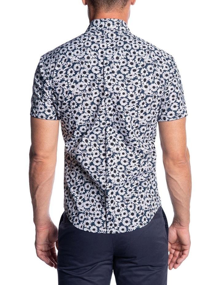 Slim Fit Oxide Shirt-Navy image 3