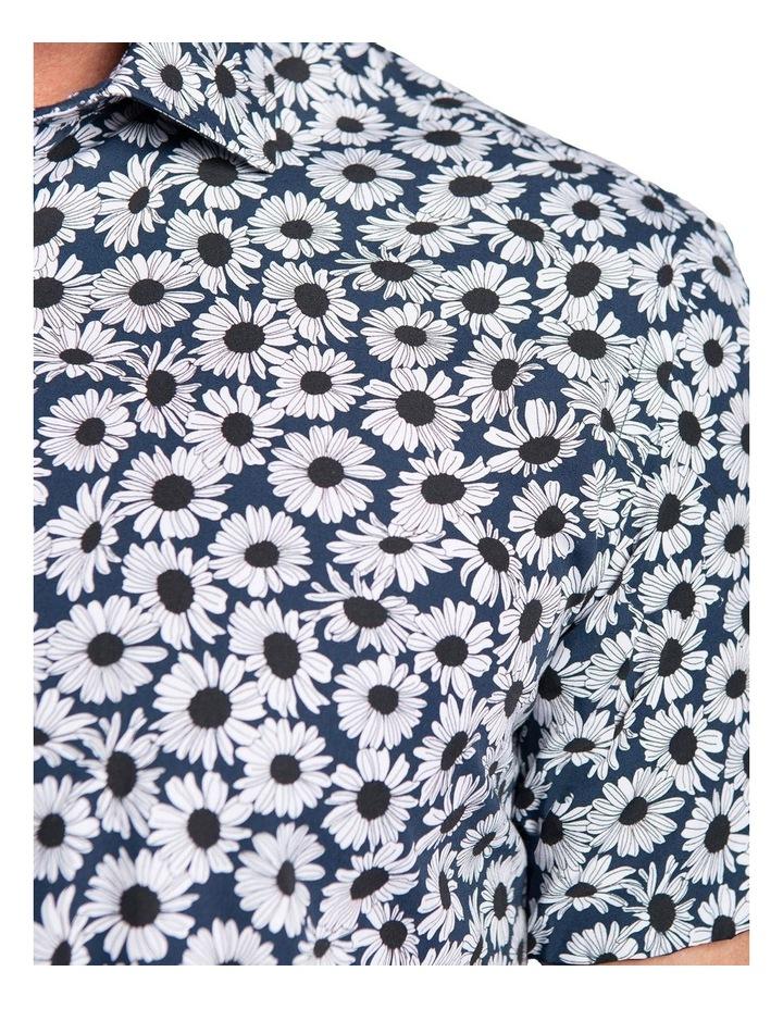 Slim Fit Oxide Shirt-Navy image 4