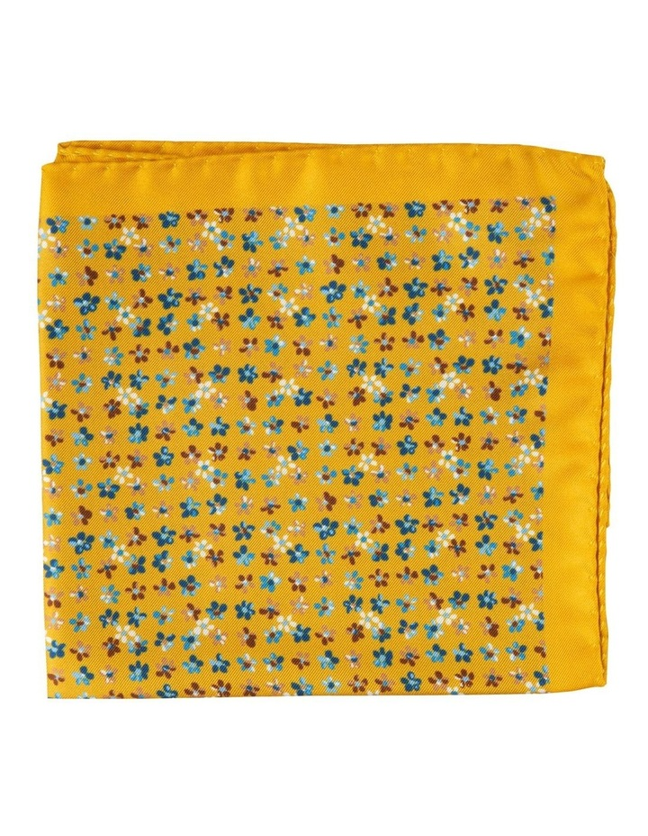 Yellow Forget Me Not Pocket Square image 1