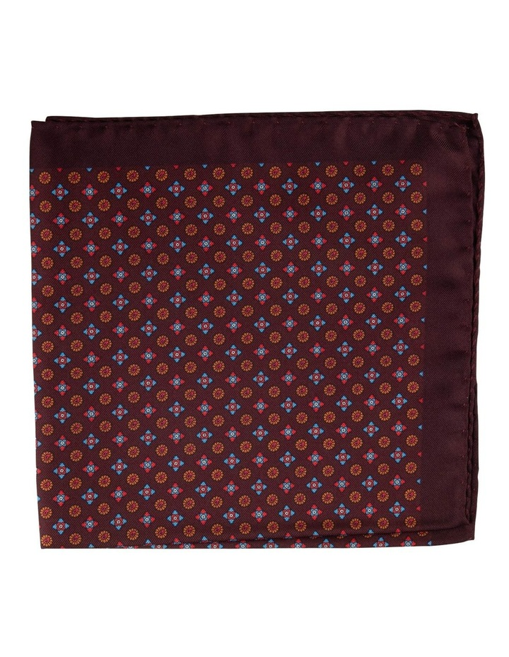 Wine Foulard Pocket Square image 1