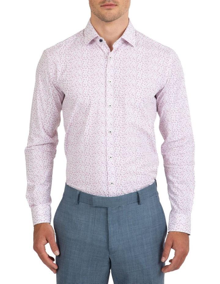 Slim Fit Pink Motion Shirt image 1