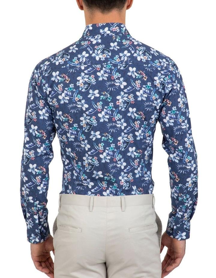 Slim Fit Indigo Flame Shirt image 2