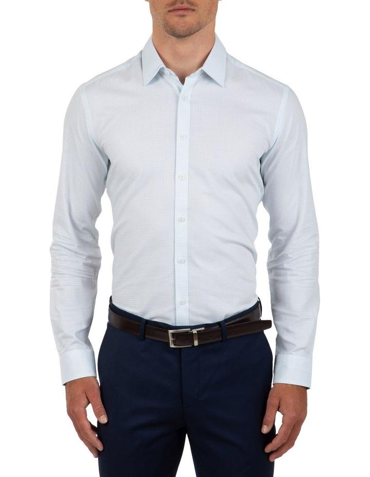 Slim Fit Blue Flame Shirt image 1