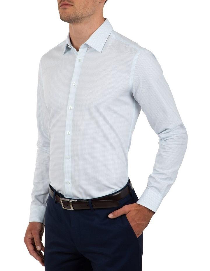 Slim Fit Blue Flame Shirt image 3