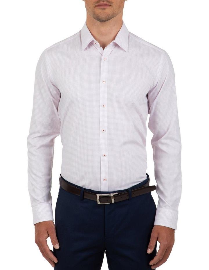Slim Fit Magenta Flame Shirt image 1