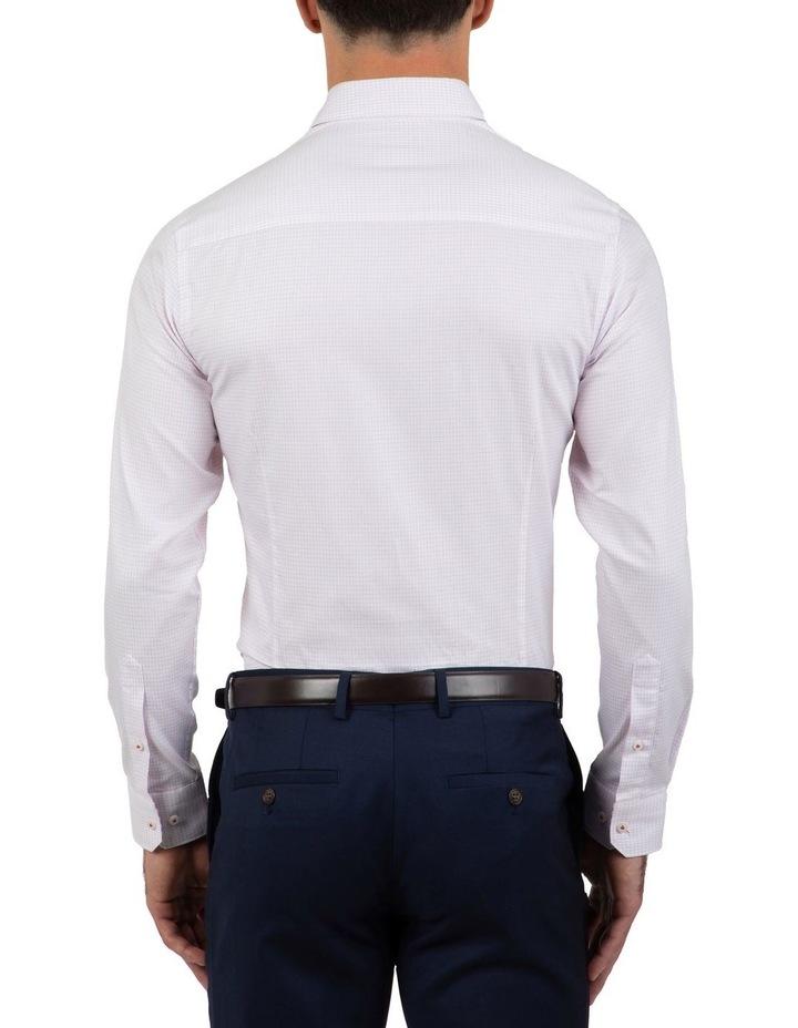 Slim Fit Magenta Flame Shirt image 2