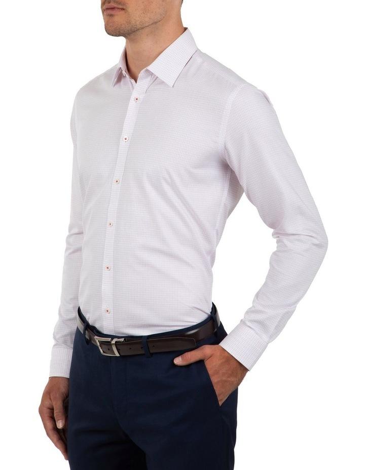Slim Fit Magenta Flame Shirt image 3