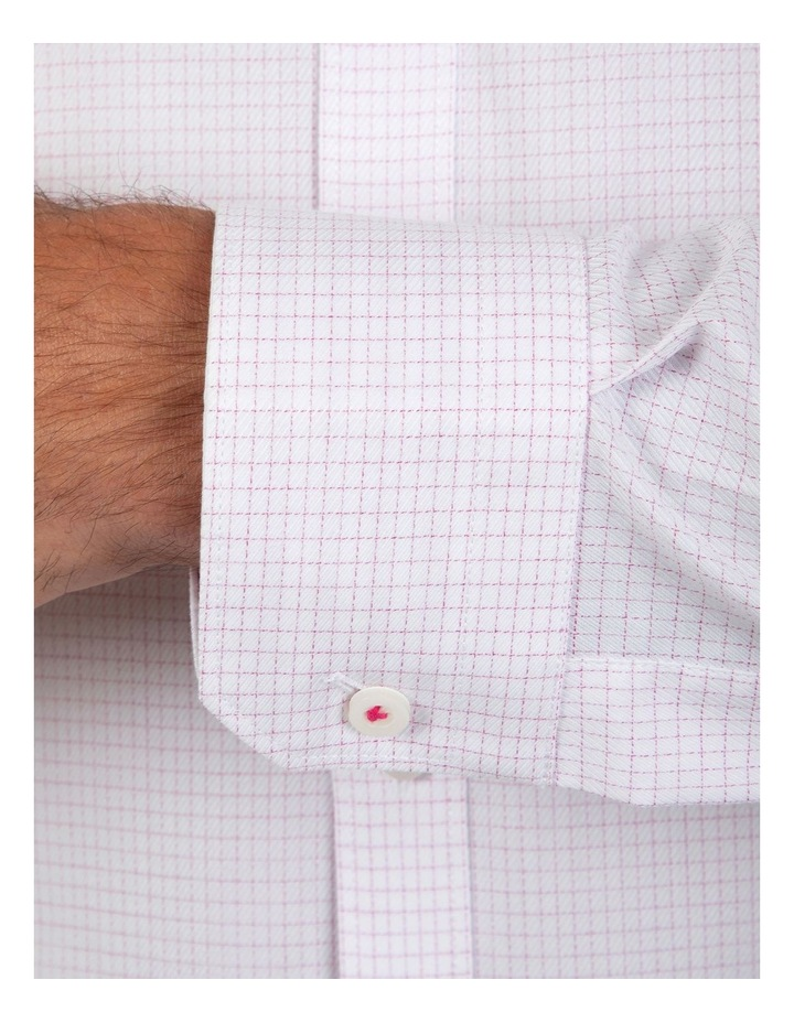 Slim Fit Magenta Flame Shirt image 4