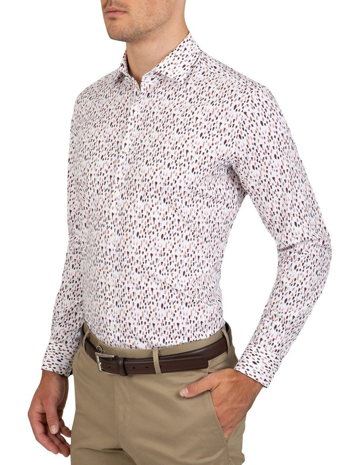 Slim Fit Pink Motion Shirt image 3