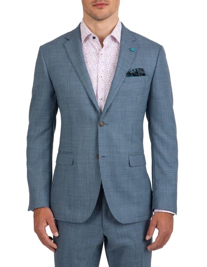 Slim Fit Nitro Houndstooth Wool Jacket FGK640 image 1