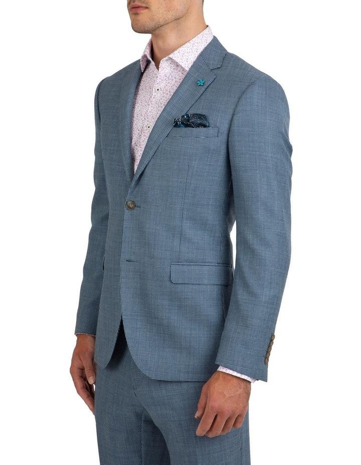 Slim Fit Nitro Houndstooth Wool Jacket FGK640 image 2